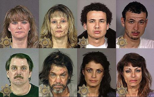 Faces of Meth!